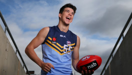 Matthew Kennedy is being widely-touted as a top ten draft prospect. (Photo by Michael Dodge/AFL Media)