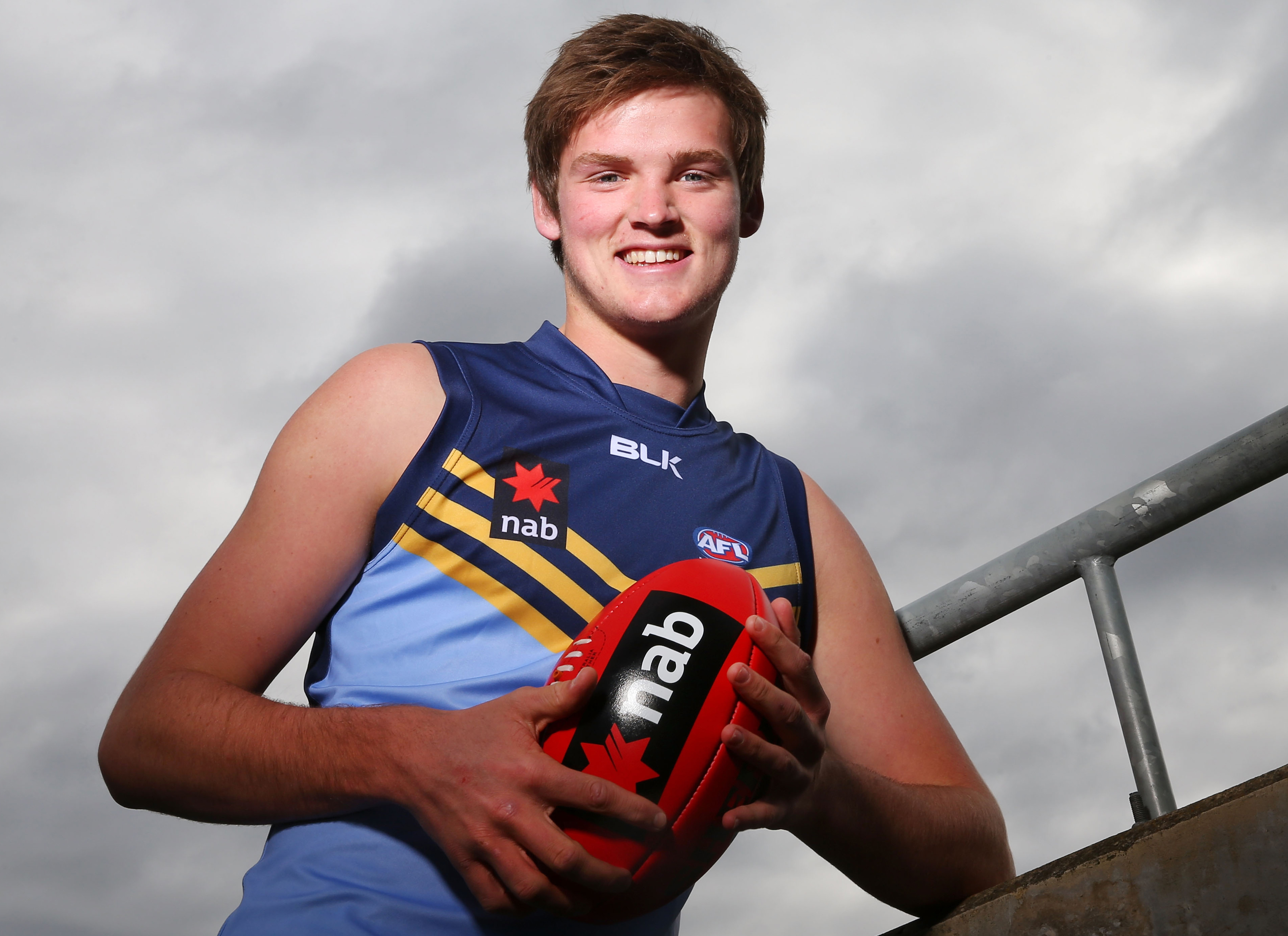 Matthew Flynn has his fingers crossed for an AFL call up. (Photo: Michael Dodge/AFL Media)