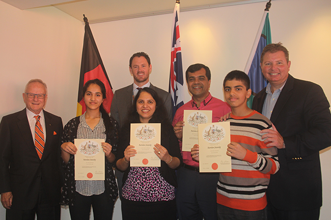 Citizenship Ceremony - AFL