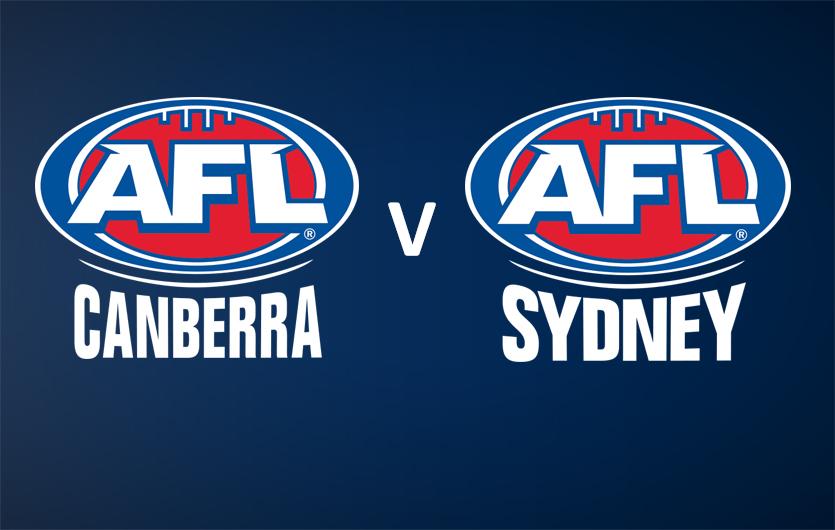 AFL Canberra v Sydney