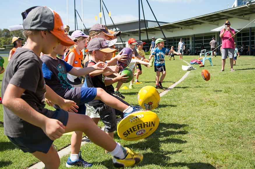 AFL School Holiday Clinic