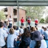 AFL NSW/ACT: Sydney Swans School Clinic. March 7, 2017. Stanmore Primary School, Sydney, NSW, Australia. Photo: Narelle Spangher, AFL NSW/ACT